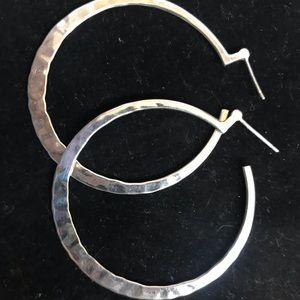 Silpada hoop earrings